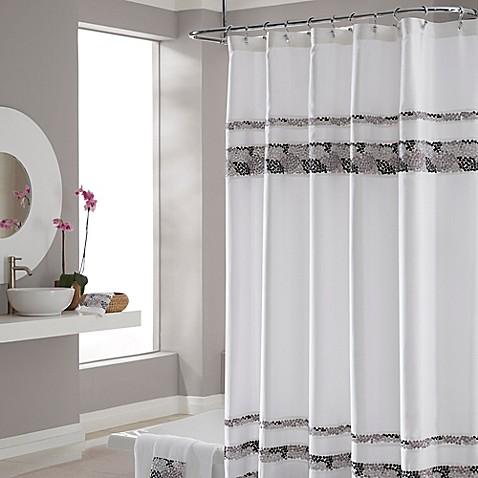 Buy Croscillu00ae Deco Bain Tile 72Inch x 75Inch Shower Curtain from Bed Bath u0026 Beyond