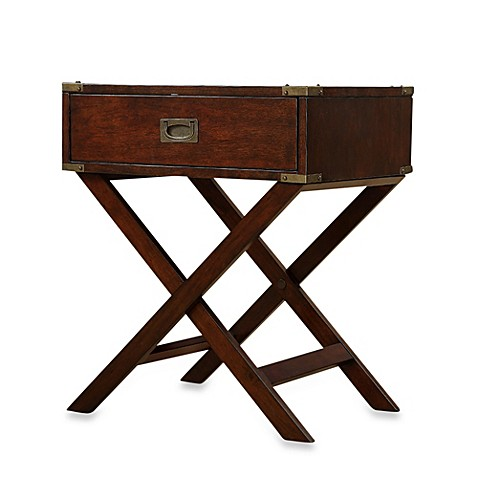 accent table with cross leg nightstand bed bath beyond