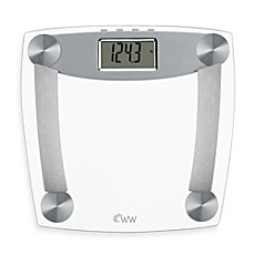 Awesome Image Of Weight Watchers® By Conair™ Glass Body Analysis Bathroom Scale  With Muscle Mass