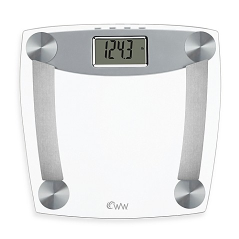 Buy Weight Watchers Glass Body Analysis Bathroom Scale By Conair With Muscle Mass From Bed