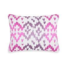 Blissliving® Home Ikat Throw Pillow In Orchid