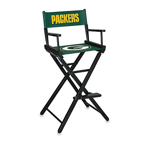 NFL Green Bay Packers Bar Height Directors Chair