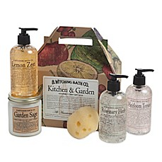 image of B. Witching Bath Co. Gourmet Kitchen & Garden Gift Set