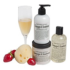 image of B. Witching Bath Co. Champagne & Strawberries Gift Set