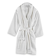 image of Wamsutta® Unisex Terry Bathrobe in White