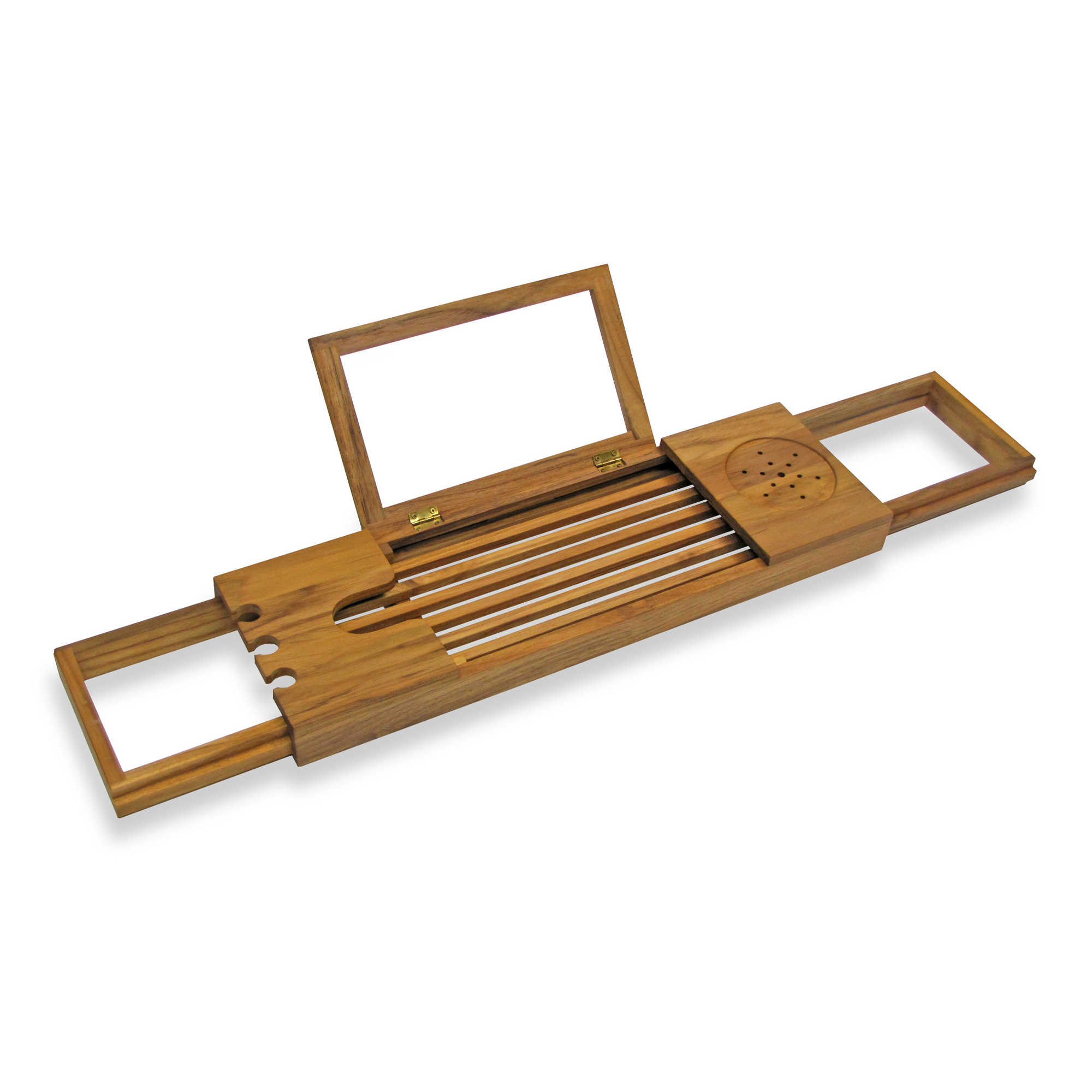 Personalization is required to add item to cart or registry. Teak Bathtub Caddy   Bed Bath   Beyond