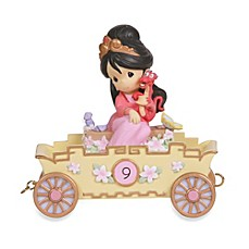 image of Precious Moments® Disney® Birthday Parade Mulan in 9th Birthday