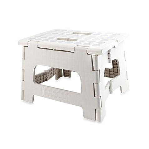 Buy Kikklerland 174 Rhino Ii Folding Stool In White Grey From