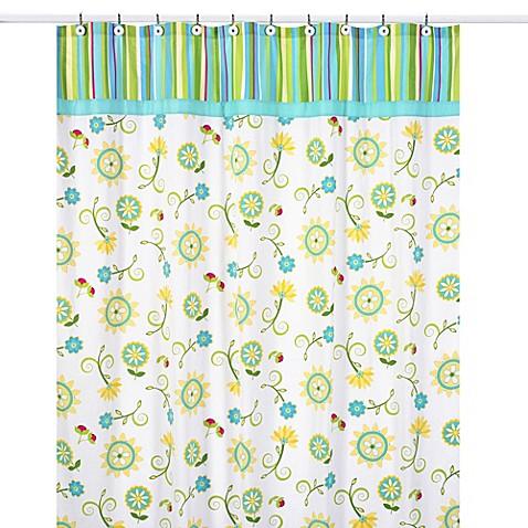 Sweet jojo designs layla shower curtain bed bath beyond for Sweet jojo designs bathroom