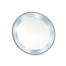 image of 15x Magnifying LED Lighted Mirror with Suction Cups