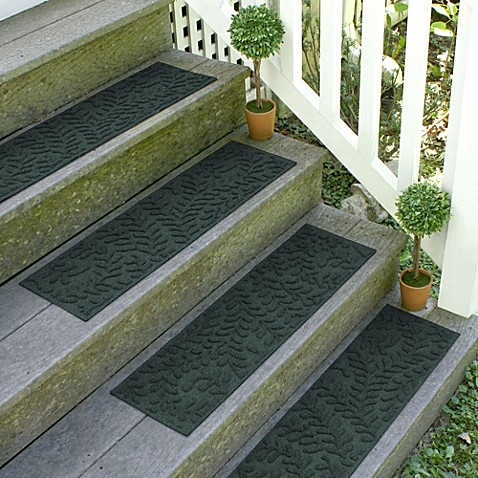 Weather Guardu0026trade; Boxwood 8.5 Inch X 30 Inch Stair Treads (Set Of