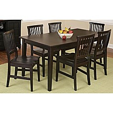 image of Home Styles Arts & Crafts 7-Piece Rectangular Dining Set