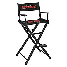 NFL T&a Bay Buccaneers Bar Height Director Chair  sc 1 st  Bed Bath u0026 Beyond & directors chair replacement canvas | Bed Bath u0026 Beyond