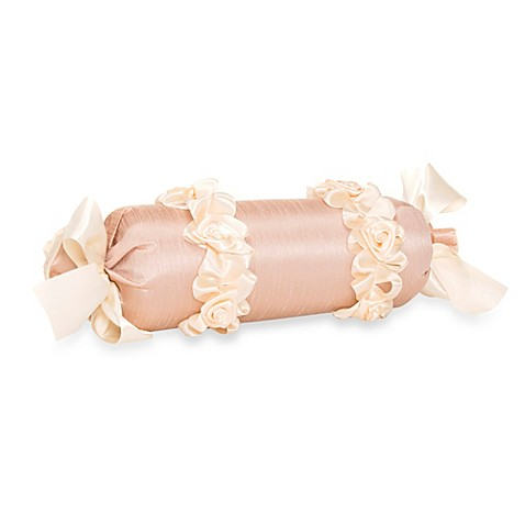 Decorative Bed Roll Pillows : Decorative Pillows > Glenna Jean Ribbons & Roses Roll Pillow from Buy Buy Baby