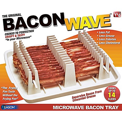 Emson Bacon Wave Microwave Tray