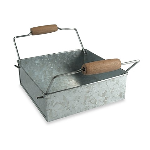 Artland oasis galvanized steel napkin holder bed bath for Bathroom napkin holder
