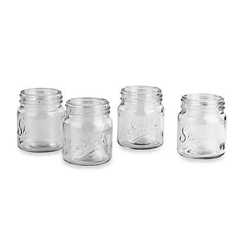 mason jar shot glasses set of 4 - Mason Jar Glasses