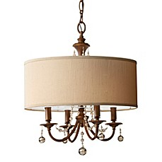 image of Feiss® Clarissa 4-Light Pendant Chandelier