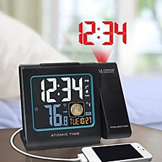 image of La Crosse Technology Atomic Projection Alarm Clock