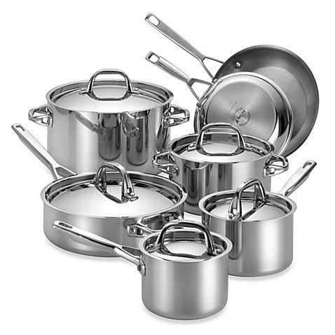 Anolon® Tri-Ply Clad Stainless Steel Cookware Collection