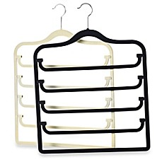 image of Real Simple® Slimline 5-Tier Swivel Pant Hanger