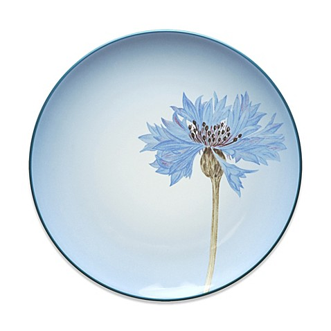 Noritake® Colorwave Floral Accent Plate in Blue