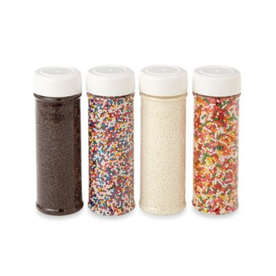 Cake Decorating Kit Bed Bath Beyond : Wilton  Everyday Sprinkles (Set of 4) - Bed Bath & Beyond