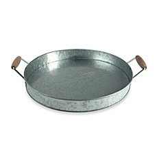 image of Artland® Oasis Galvanized Steel Party Tray