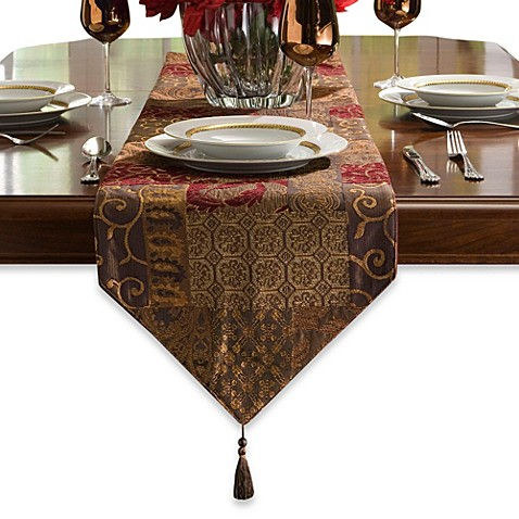 Buy croscill galleria 108 inch table runner from bed bath for 108 table runner
