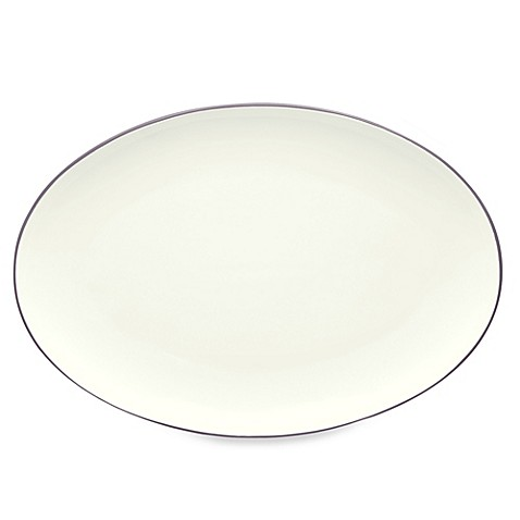 Noritake® Colorwave 16-Inch Oval Platter in Plum