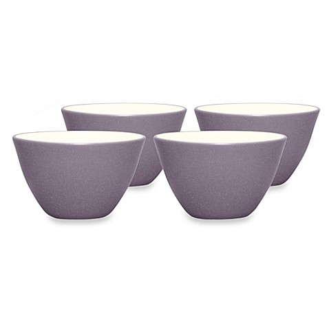 Noritake® Colorwave Mini Bowls in Plum (Set of 4)