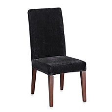 Sure Fit® Stretch Plush Short Dining Room Chair Cover
