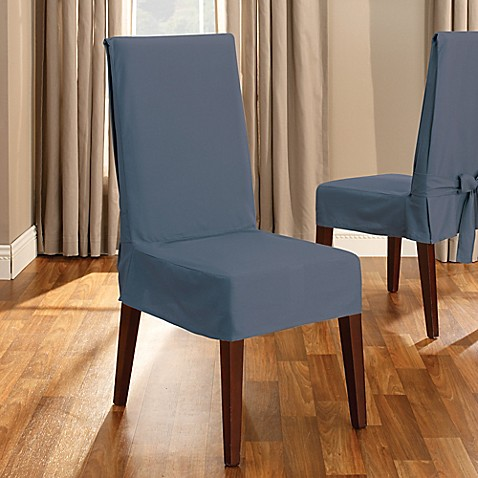 Sure Fit 174 Duck Supreme Cotton Short Dining Room Chair