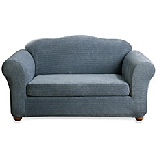 image of Sure Fit® Stretch Royal Diamond Slipcover