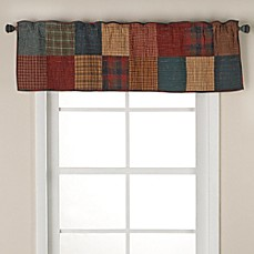 image of Donna Sharp Campfire Square 15-Inch Window Valance
