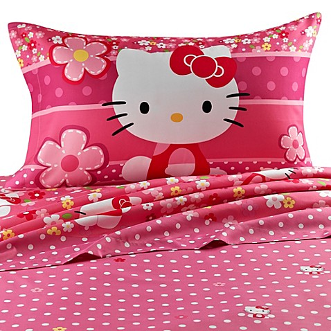 hello kitty sheet set bed bath beyond. Black Bedroom Furniture Sets. Home Design Ideas