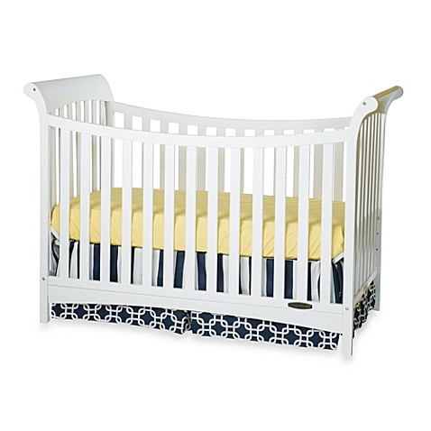 Child Craft™ Coventry Traditional 3-in-1 Convertible Sleigh Crib in White -  buybuy BABY - Child Craft™ Coventry Traditional 3-in-1 Convertible Sleigh Crib