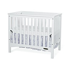 Child Craft™ London Euro 2 In 1 Mini Crib In White