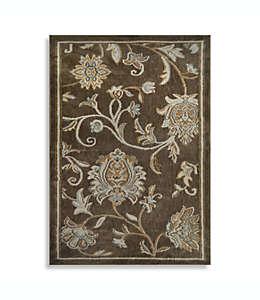 Tapete decorativo de poliéster Home Dynamix Westwood con diseño floral, 71.12 cm x 1.49 m color café