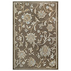 Image Of Westwood Fl Accent Rug In Taupe
