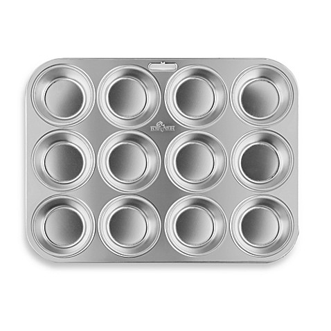Fox Run 174 12 Cup Stainless Steel Muffin Pan Bed Bath Amp Beyond