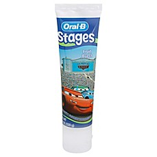 image of Oral-B® Stages Cars 4.2 oz. Toothpaste in Fruit Burst Flavor