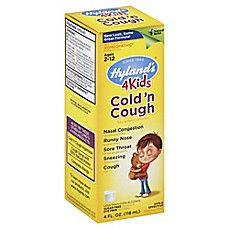 image of Hyland's® 4 Kids 4 oz. Cold 'n Cough Syrup