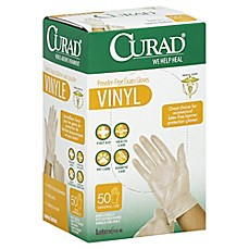 image of Curad® 50-Count Vinyl Exam Gloves