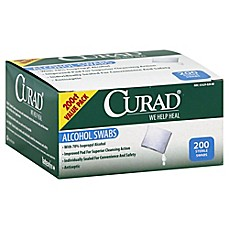 image of Curad® 200-Count Alcohol Swabs