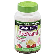 image of Vitafusion® 90-Count Prenatal DHA & Folic Acid Gummy Vitamins