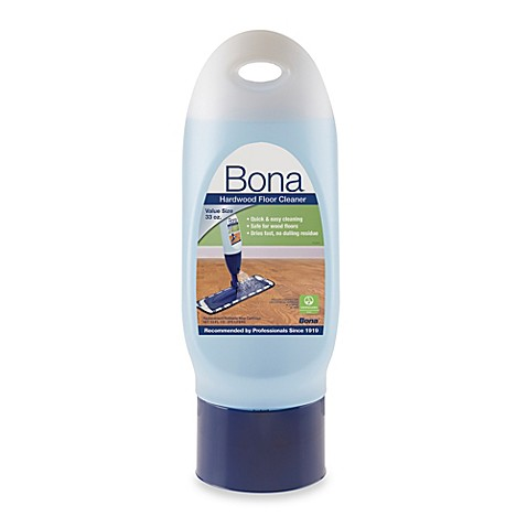 Bona 33 ounce hardwood floor cleaner refill cartridge for Wood floor cleaner bona