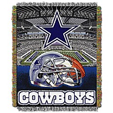 Incroyable NFL Dallas Cowboys Tapestry Throw