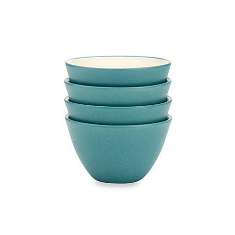 Noritake® Colorwave Mini Bowls in Turquoise (Set of 4)