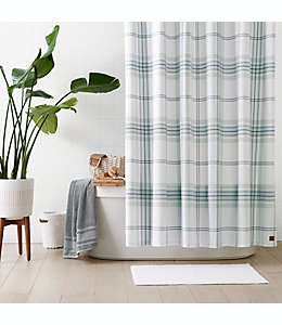 Cortina de baño de algodón UGG® Simone color azul